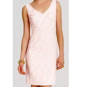 Lilly Pulitzer Laidley Pink Tweed pearl dress, 0
